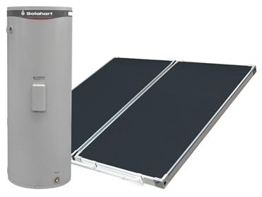 Chauffe-eau solaire Solahart à système BT Collecteur